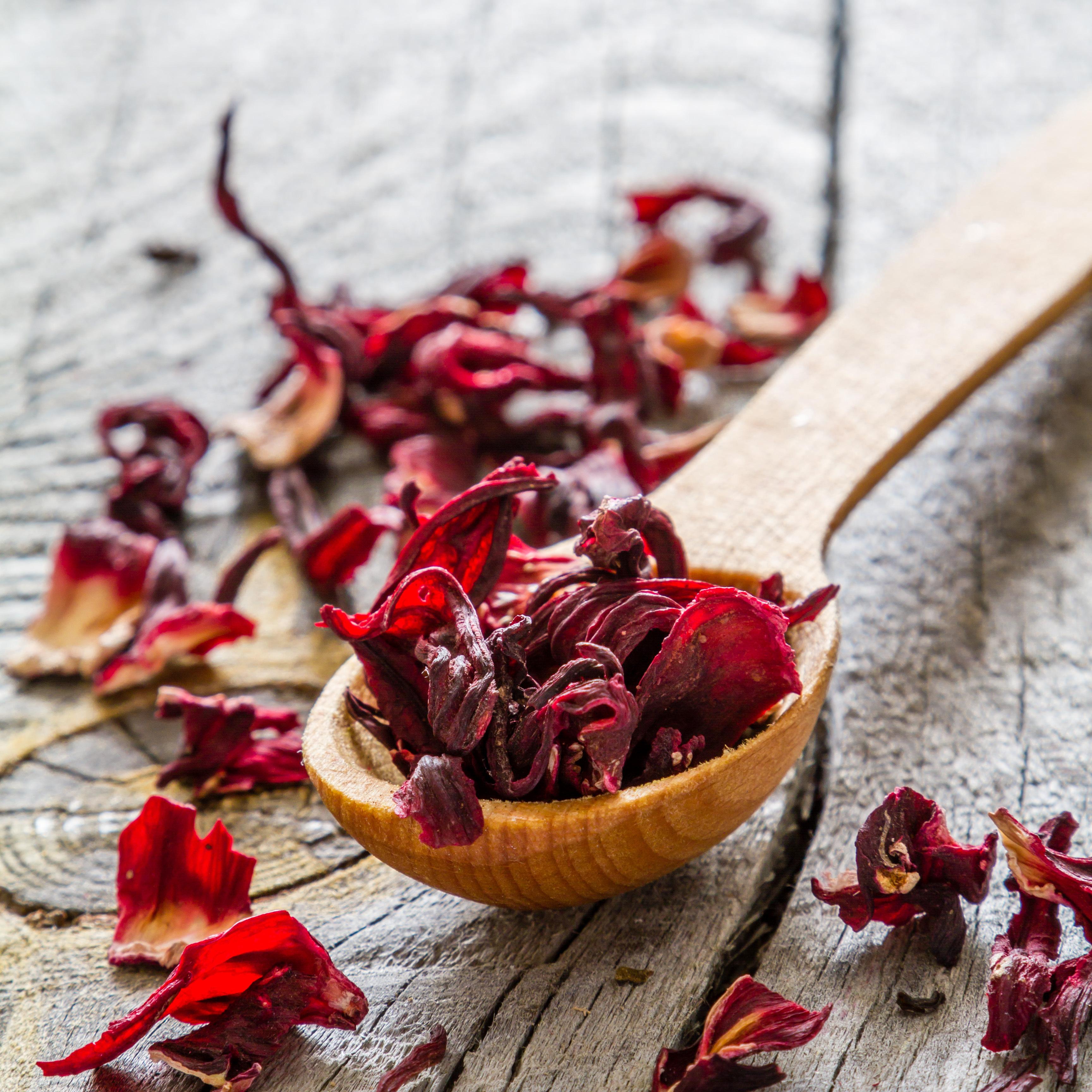 Les ingrédients - hibiscus